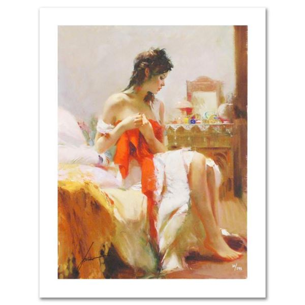 Pino (1939-2010)  Expectations  Limited Edition Giclee. Numbered and Hand Signed; Certificate of Aut