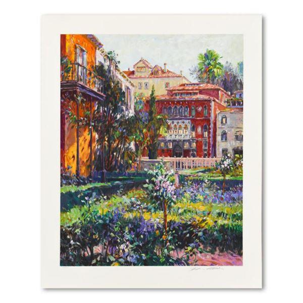 """Henri Plisson, """"Venetian Summer"""" Limited Edition Serigraph, Numbered 10/300 and Hand Signed with Let"""