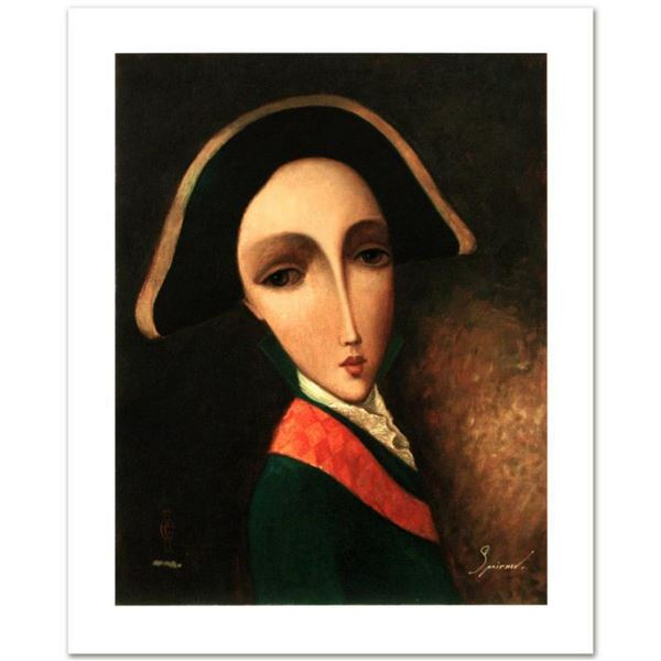 """Sergey Smirnov (1953-2006), """"Peter The Great: The Young Czar"""" Limited Edition Mixed Media on Canvas,"""
