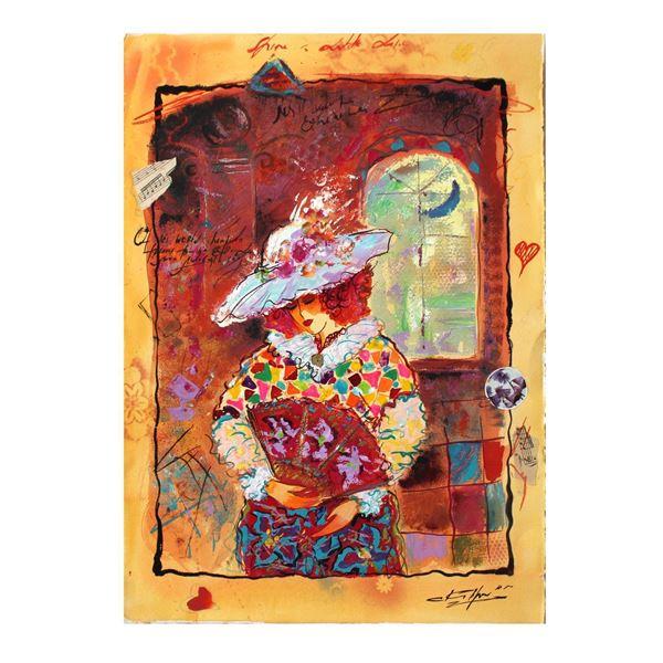 """Sergey Kovrigo- Original Watercolor """"Classic Story"""""""