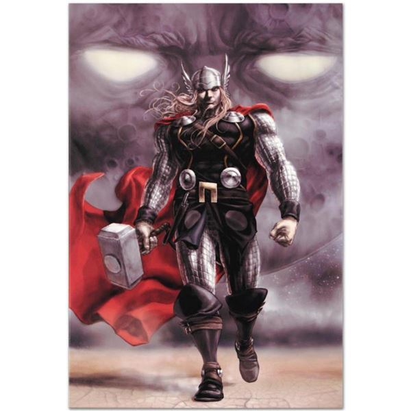 """Marvel Comics """"Astonishing Thor #5"""" Numbered Limited Edition Giclee on Canvas by Mike Choi with COA."""