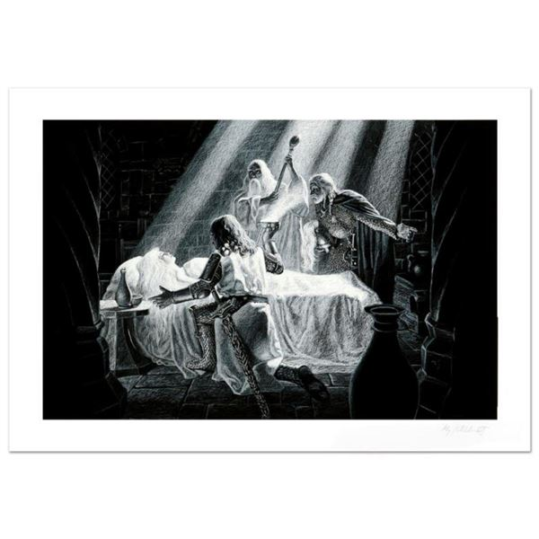 """""""Healing Of Eowyn"""" Limited Edition Giclee by Greg Hildebrandt. Numbered and Hand Signed by the Artis"""