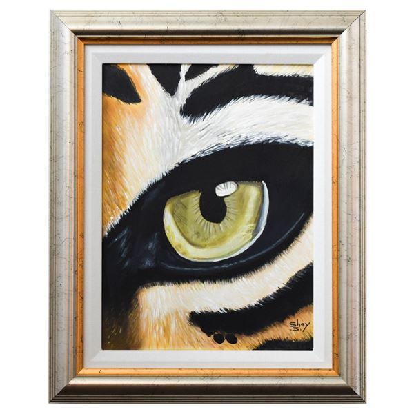 "Shay Yair- Original Acrylic on Canvas ""Vision"""