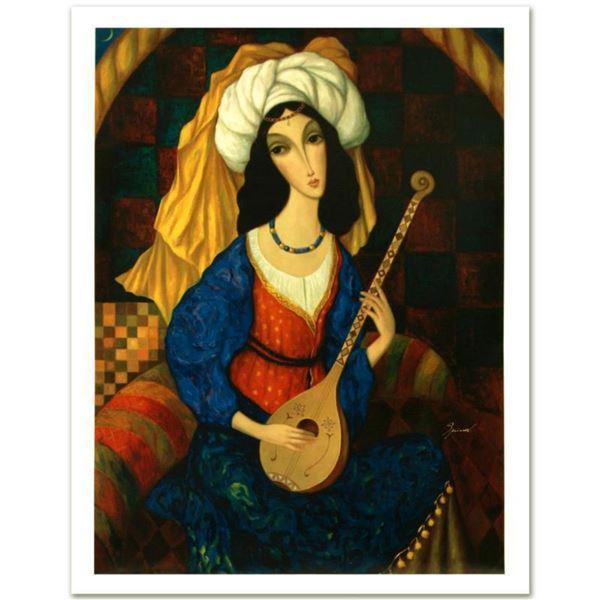 "Sergey Smirnov (1953-2006), ""Scheherazade"" Limited Edition Mixed Media on Canvas (26"" x 35""), Number"
