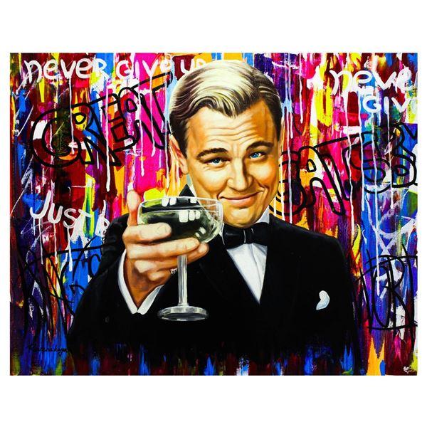 "Nastya Rovenskaya- Original Oil on Canvas ""The Great Gatsby"""