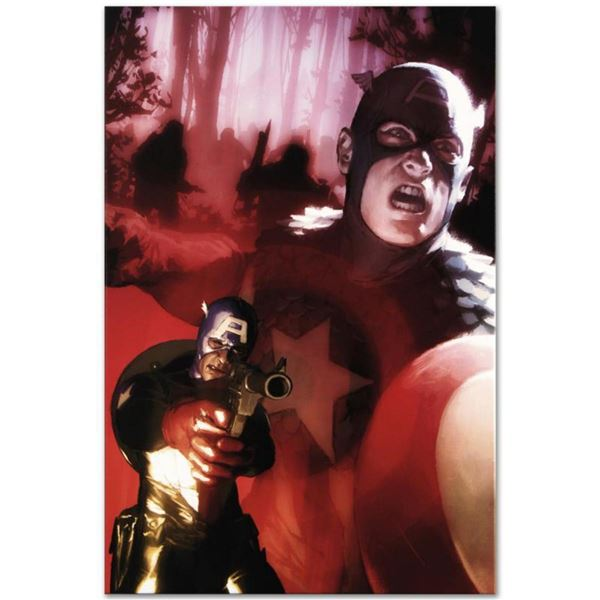 """Marvel Comics """"Captain America #603"""" Numbered Limited Edition Giclee on Canvas by Gerald Parel with"""