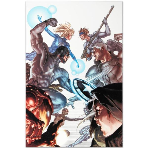 """Marvel Comics """"Age of X: Universe #2"""" Numbered Limited Edition Giclee on Canvas by Simone Bianchi wi"""