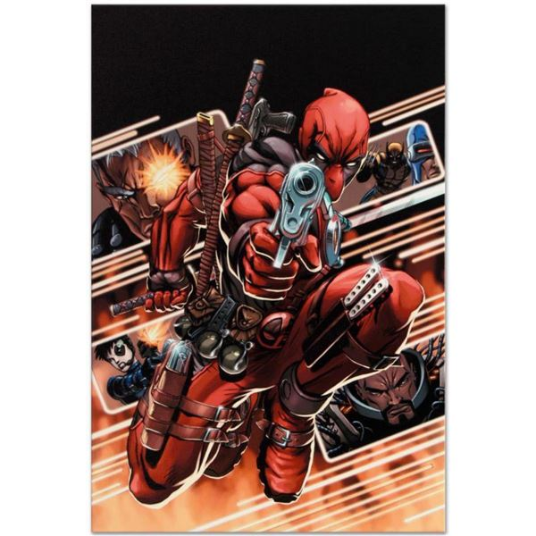 """Marvel Comics """"Cable & Deadpool #9"""" Numbered Limited Edition Giclee on Canvas by Patrick Zircher wit"""