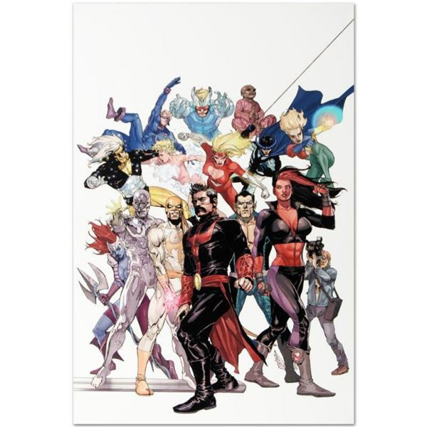 """Marvel Comics """"Defenders: Strange Heroes #1"""" Numbered Limited Edition Giclee on Canvas by Leinil Fra"""