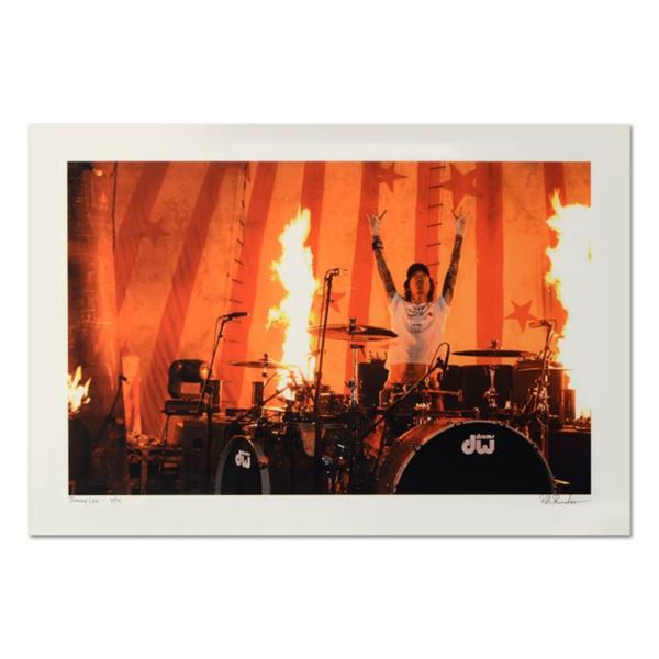 """Rob Shanahan, """"Tommy Lee"""" Hand Signed Limited Edition Giclee with Certificate of Authenticity."""