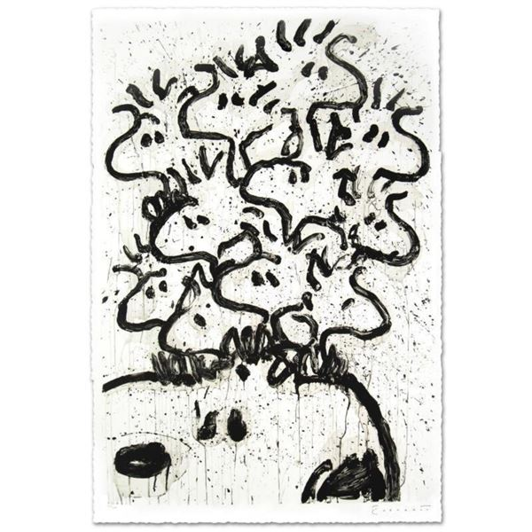 """""""Party Crashers"""" Limited Edition Hand Pulled Original Lithograph (28.5"""" x 42"""") by Renowned Charles S"""