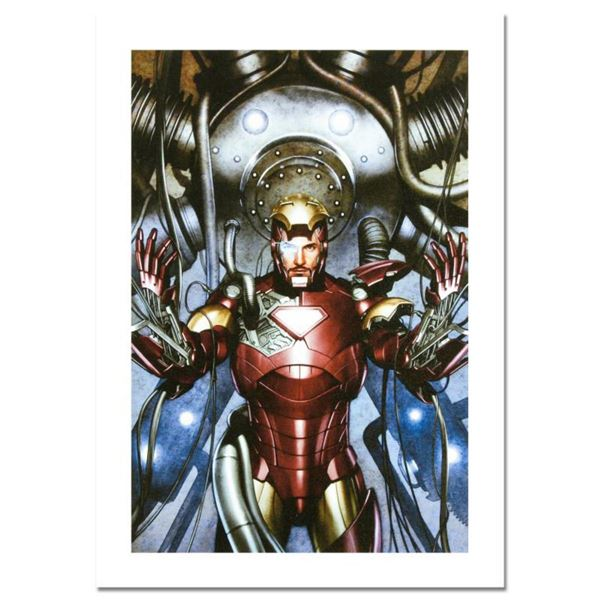 """Marvel Comics, """"Iron Man: Director of S.H.I.E.L.D. #31"""" Numbered Limited Edition Canvas by Adi Grano"""