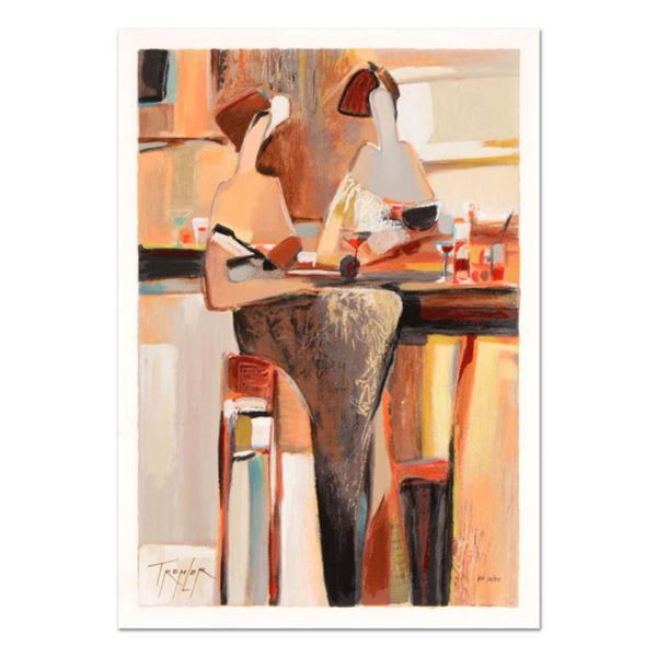 """Yuri Tremler, """"Ladies' Lunch"""" Limited Edition Serigraph by Yuri Tremler, Hand Signed with Certificat"""