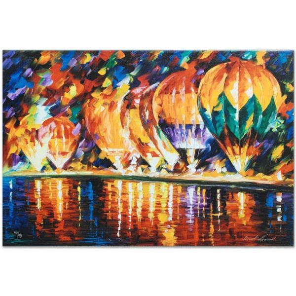 """Leonid Afremov (1955-2019) """"With the Stars"""" Limited Edition Giclee on Canvas, Numbered and Signed. T"""