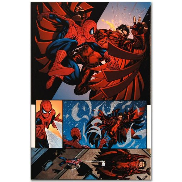 """Marvel Comics """"The Amazing Spider-Man #594"""" Numbered Limited Edition Giclee on Canvas by Barry Kitso"""