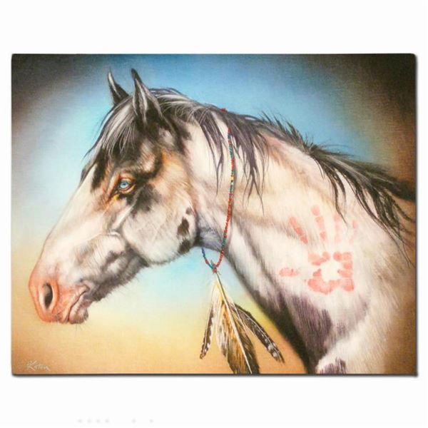 """""""Hand Healer"""" Limited Edition Giclee on Canvas by Martin Katon, Numbered and Hand Signed. This piece"""