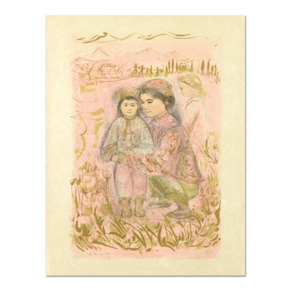 """Edna Hibel (1917-2014), """"Mrs. Hsu"""" Limited Edition Lithograph on Rice Paper, Numbered and Hand Signe"""