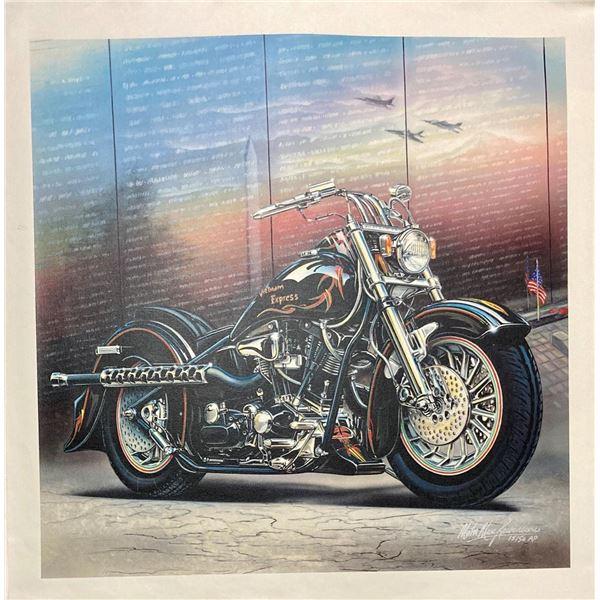 """Marc Lacourciere- Original Giclee on Canvas """"Memorial"""""""