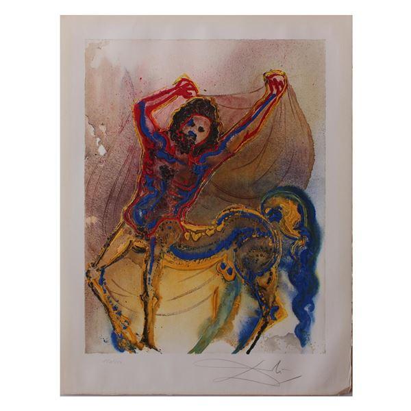 """Salvador Dali- Original Lithograph """"The Centaur of Crete"""""""