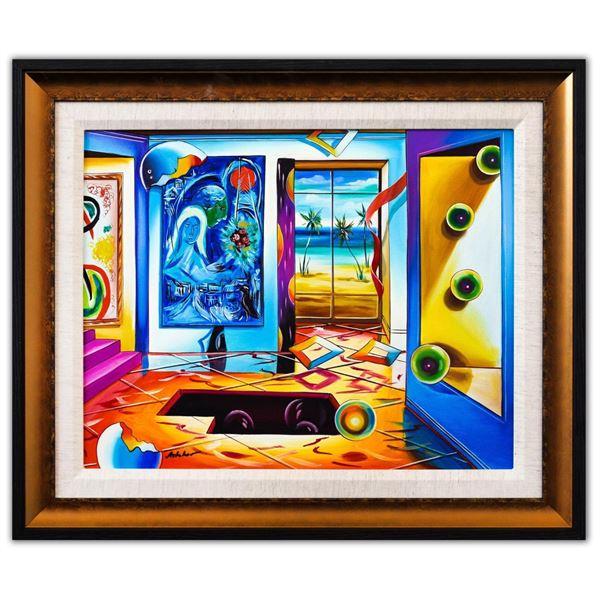 """Alexander Astahov- Original Oil on Canvas """"Bahamas Beach"""""""