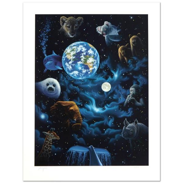 """""""All the World's Children"""" Limited Edition Serigraph by William Schimmel, Numbered and Hand Signed b"""