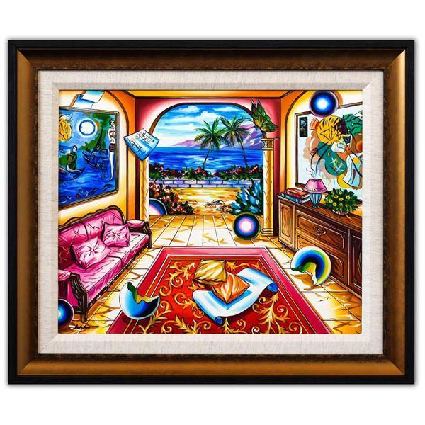 "Alexander Astahov- Original Oil on Canvas ""It's A Beautiful Day"""
