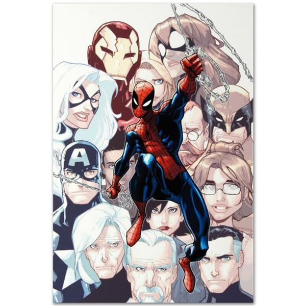 """Marvel Comics """"The Amazing Spider-Man #648"""" Numbered Limited Edition Giclee on Canvas by Humberto Ra"""