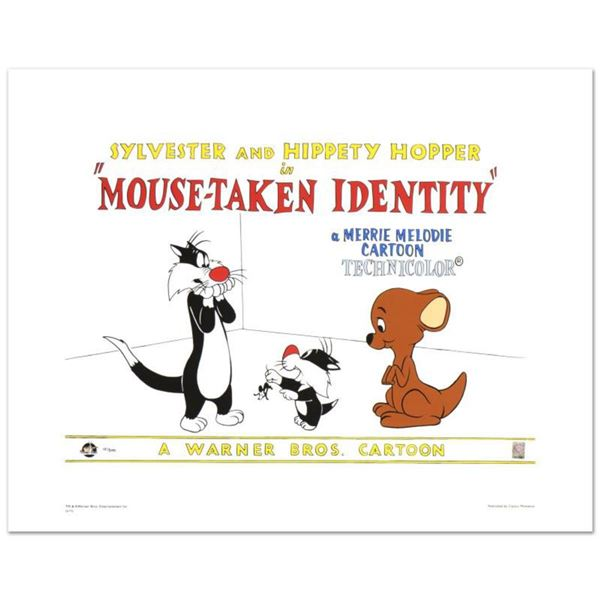 """""""Mouse-Taken Identity"""" Limited Edition Giclee from Warner Bros., Numbered with Hologram Seal and Cer"""