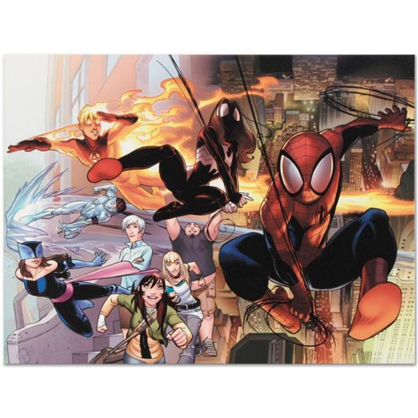 """Marvel Comics """"Ultimate Comics: Spider-Man #1"""" Numbered Limited Edition Giclee on Canvas by David La"""
