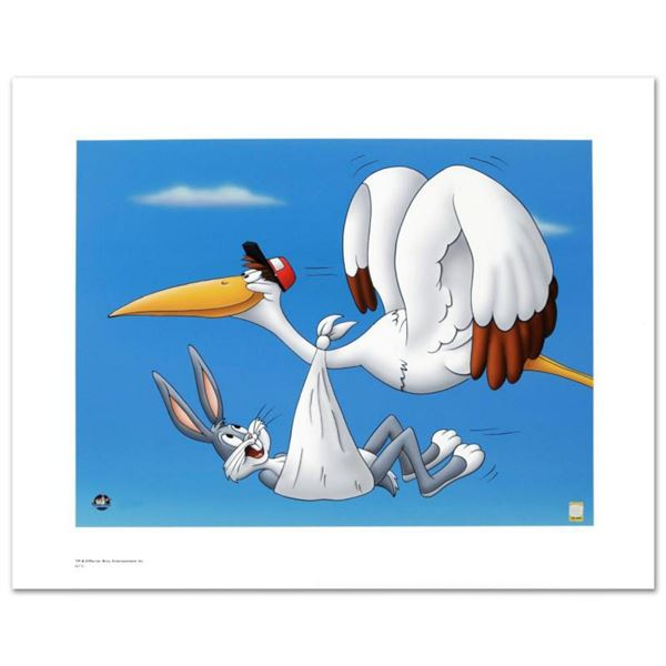 """""""Special Delivery"""" Limited Edition Giclee from Warner Bros., Numbered with Hologram Seal and Certifi"""