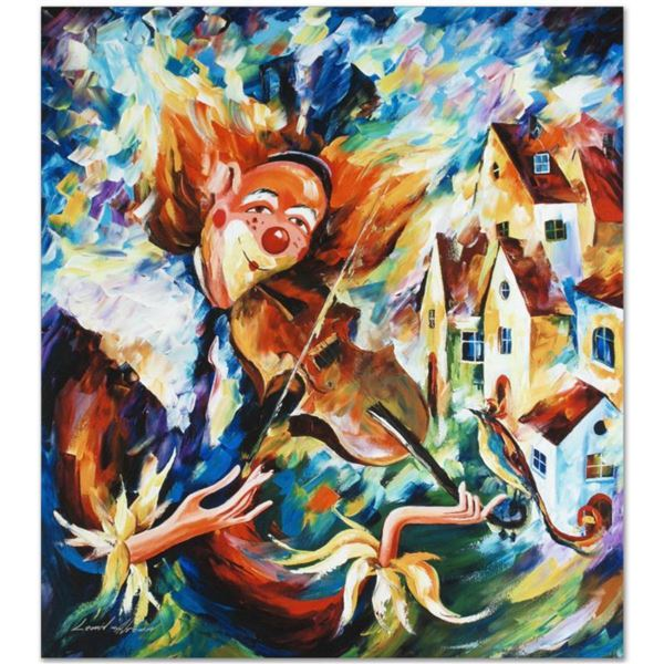 """Leonid Afremov (1955-2019) """"For Fun"""" Limited Edition Giclee on Canvas, Numbered and Signed. This pie"""