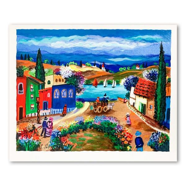 Shlomo Alter, Hand Signed Limited Edition Serigraph on Paper with Letter of Authenticity.