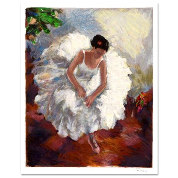 """Hedva Ferenci, """"Prima Ballerina"""" Limited Edition Serigraph, Numbered and Hand Signed with Certificat"""