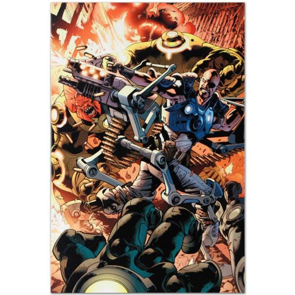 """Marvel Comics """"Ultimate Doom #1"""" Numbered Limited Edition Giclee on Canvas by Bryan Hitch with COA."""