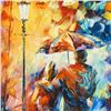 """Image 2 : Leonid Afremov (1955-2019) """"Warmth"""" Limited Edition Giclee on Canvas, Numbered and Signed. This piec"""