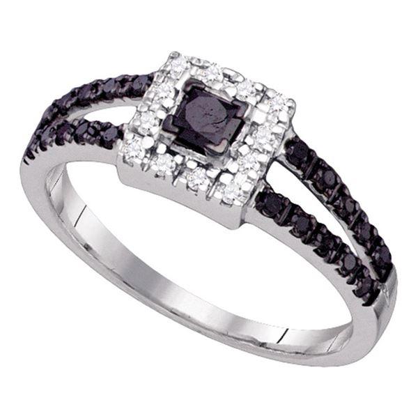 Bridal Wedding Ring 5/8 Cttw 14KT White Gold