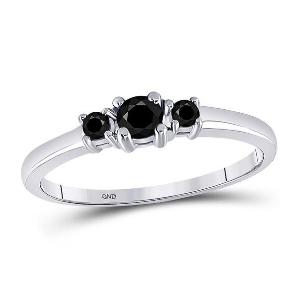 Bridal Wedding Engagement Ring 1/4 Cttw 10KT White Gold