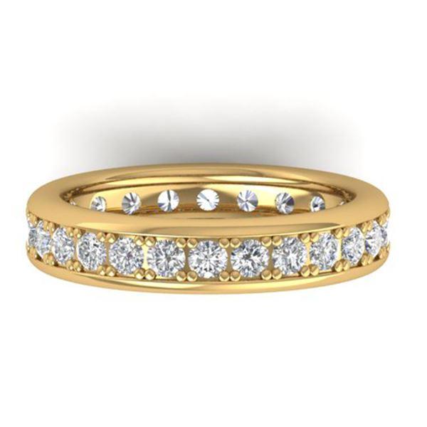 1.33 ctw VS/SI Diamond Eternity Band Men's SIZE 10 14k Yellow Gold - REF-127K6Y