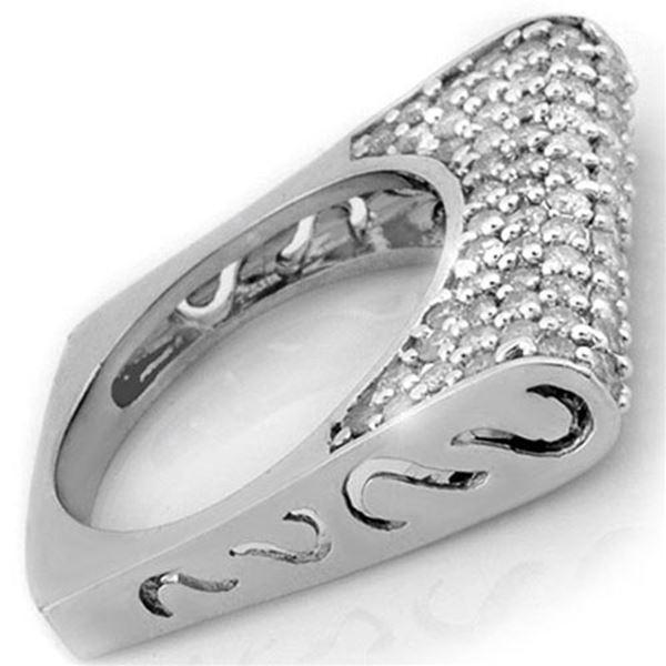 2.25 ctw Certified VS/SI Diamond Ring 18k White Gold - REF-167A8N