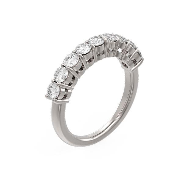 1.26 ctw Diamond Ring 18K White Gold - REF-136N5F