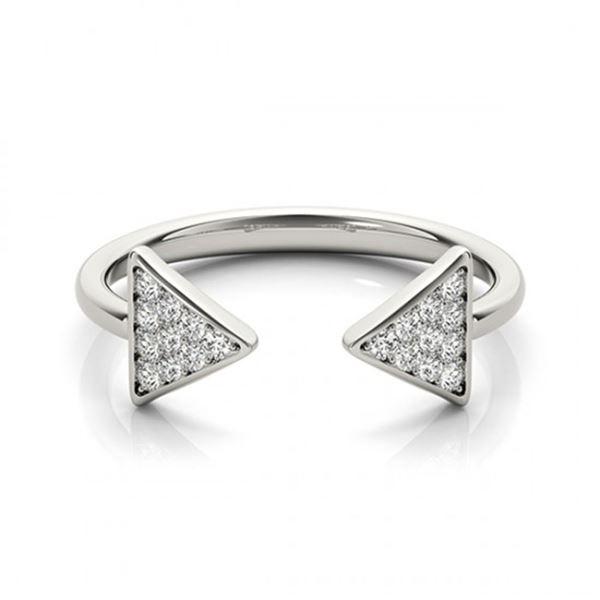 0.25 ctw VS/SI Diamond Fashion Ring 18k White Gold - REF-36X8A