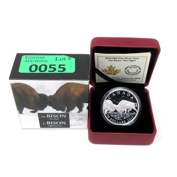 2014 Canada .9999 Silver$20 Coin