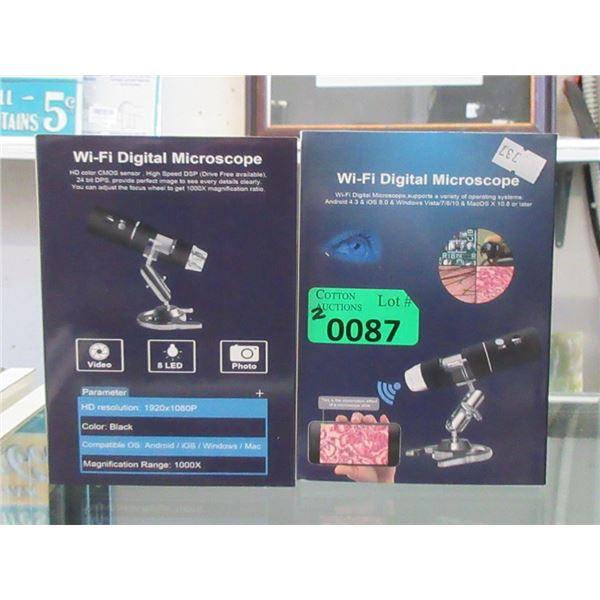 2 New Wi-Fi Digital Microscopes