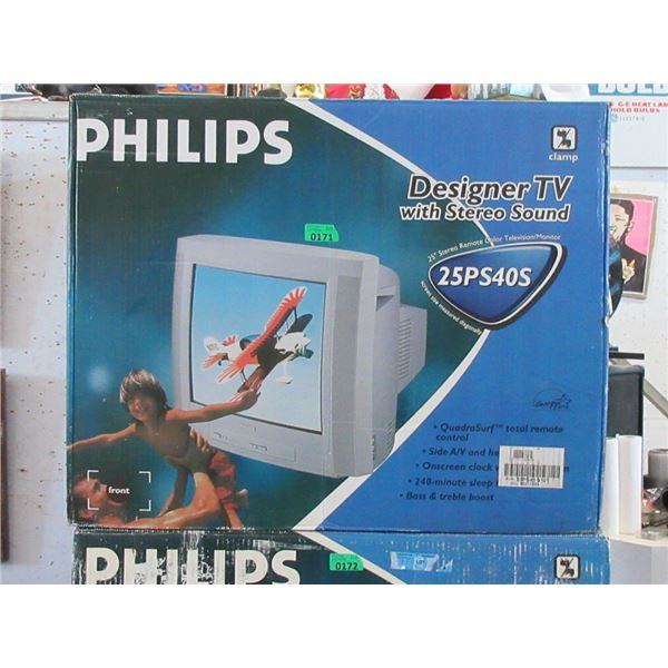 """Philips 25"""" Stereo Remote TV / Monitor - 25PS40S"""