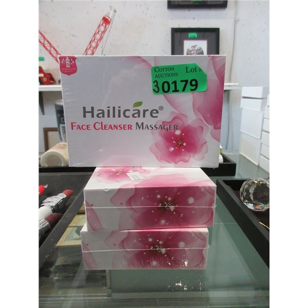 3 New Hailicare Face Cleanser Massagers