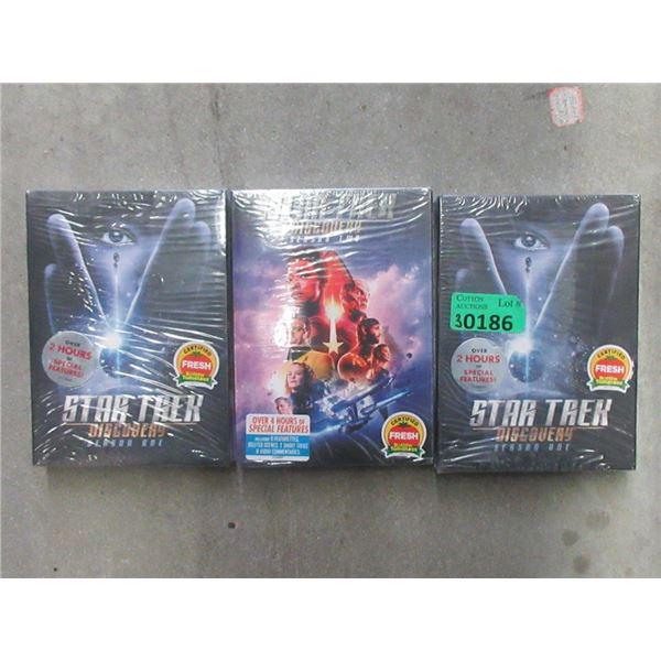 New Star Trek Discover Season 1 & 2 DVDs