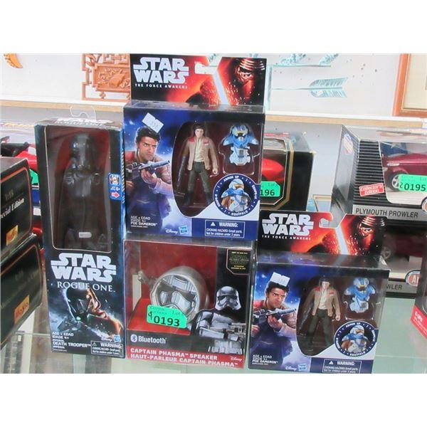 4 New in Star Wars Merchandise