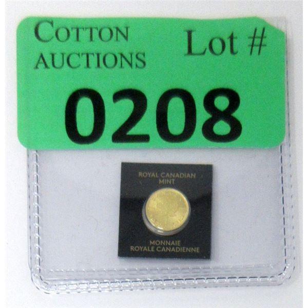1 Gram .9999 Gold 2021 Canada Maple Leaf Coin