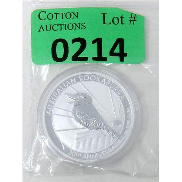 1 Oz. 2020 Australia .9999 Silver Coin