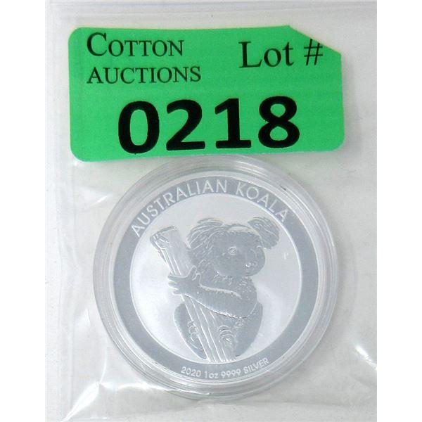 1Ounce 2020 Australia .9999 Silver Coin